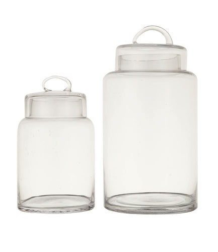Glass Canister w/ Lid