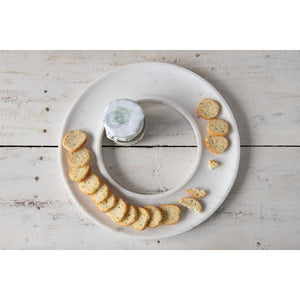Marble Cracker and Fruit Tray