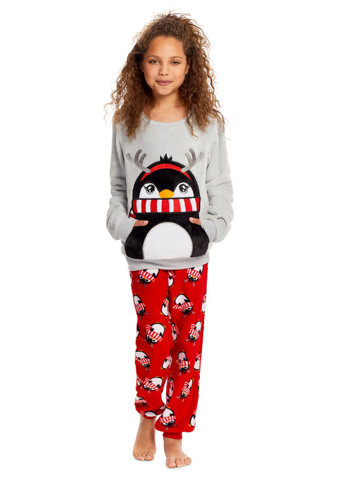 Girls 2 Piece Pajama Set