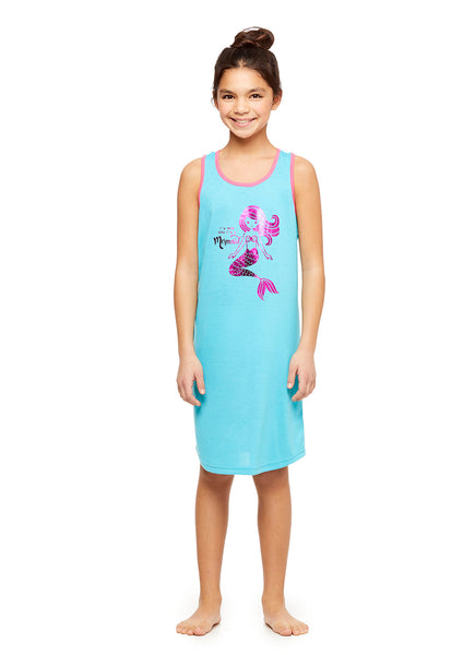 Girls 2-Pack Knit Sleep Gowns, by Jellifish Kids