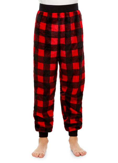 Girls Holiday Bear 2 Piece Pajama & Hat Set | Long Sleeve Top & PJ Pants
