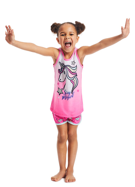 Girls Pajama Set Unicorn