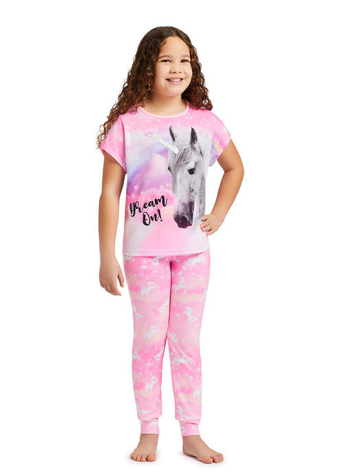 Girls 3-Piece Pajama Set