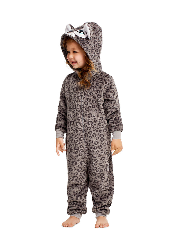Girls Onesie Tiger
