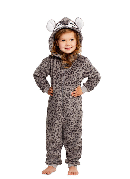 Girls Pajamas | Plush Zippered Tiger Kids Onesie Blanket Sleeper Size 2T