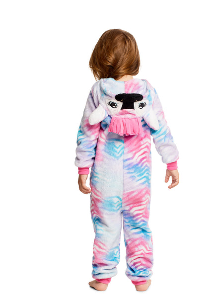 Girls Pajamas | Plush Zippered Zebra Kids Onesie Blanket Sleeper Size 2T