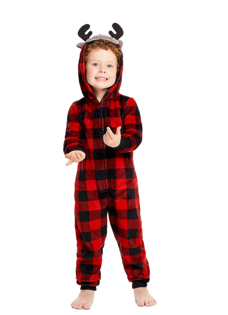 Boys 2 Piece Pajama Set | Grey Bear Puff Print Sleep Top, Igloo Pants
