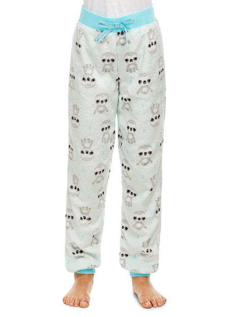 Boys 2 Piece Pajama Set | Long Sleeve Sloth Print Top & Jogger PJ Pants