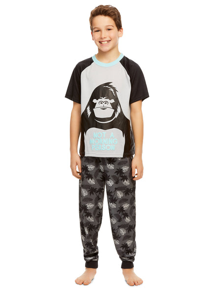 Boys 3-Piece Pajamas Set Gorilla