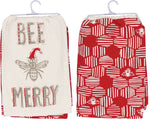 Bee Merry Towel Set of Two