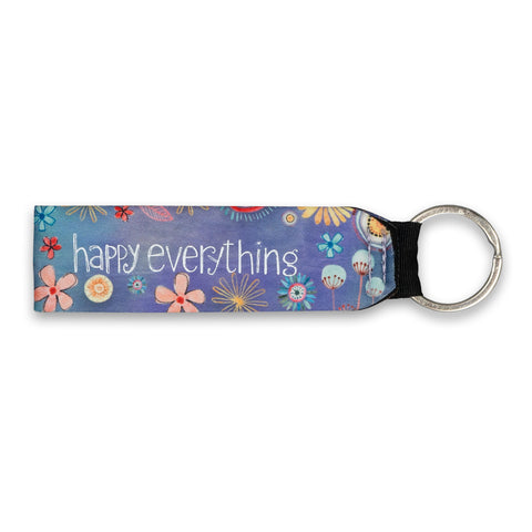Happy Everything Wrist Keychain