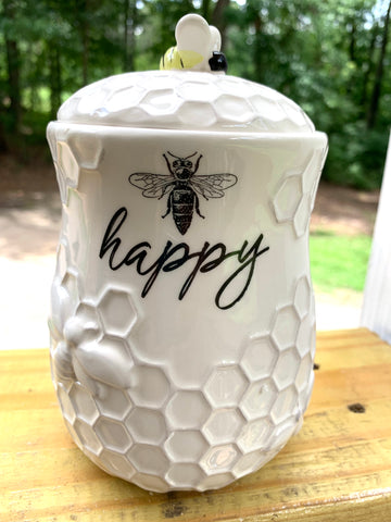 Bee Treat Jar