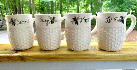 """Bee"" Inspired Mugs"