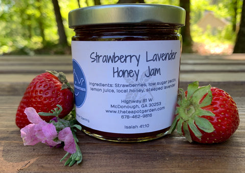 Strawberry Lavender Honey Jam
