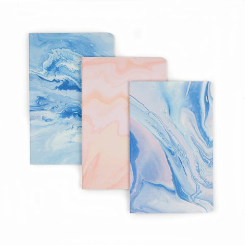 Marble Dreams 3 Pack Notebook