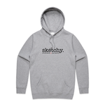 sketchy. Hoodie // Just send it.