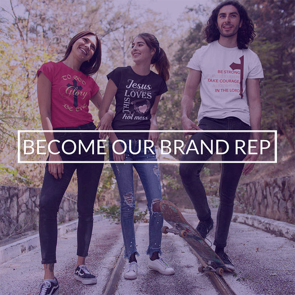 BECOME OUR BRAND REP