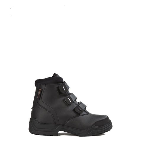 TUFFA - NORDIC THERMAL RIDING BOOTS, REFLECTIVE - BLACK