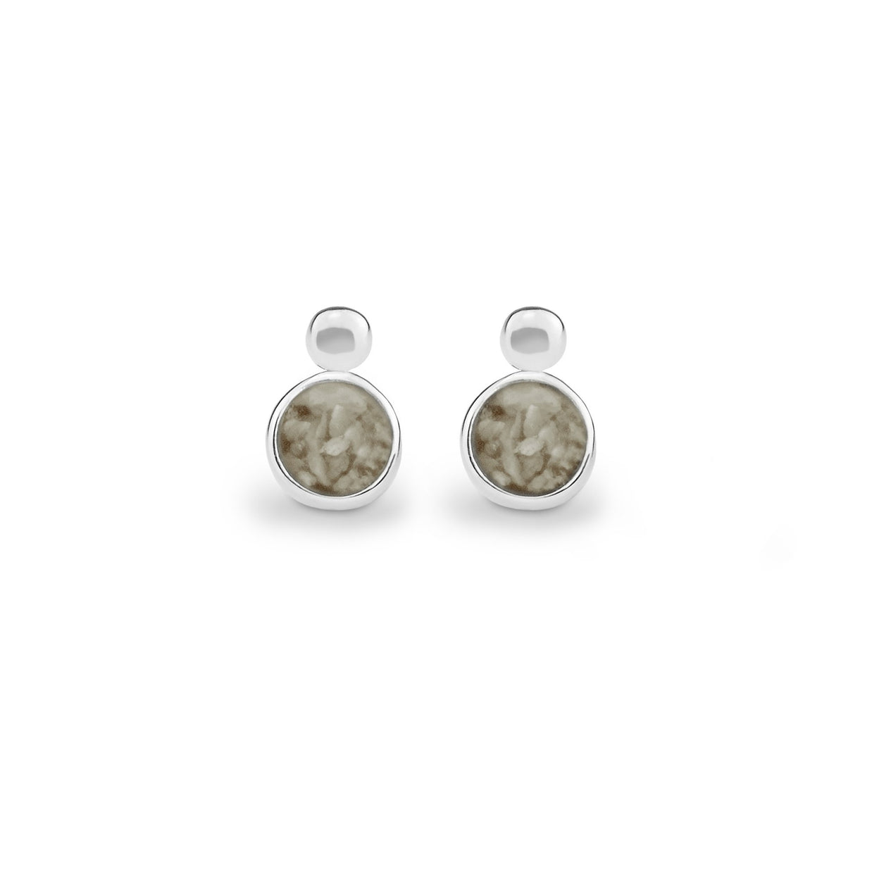 Load image into Gallery viewer, EverWith™ Delicate Drop Memorial Ashes Earrings