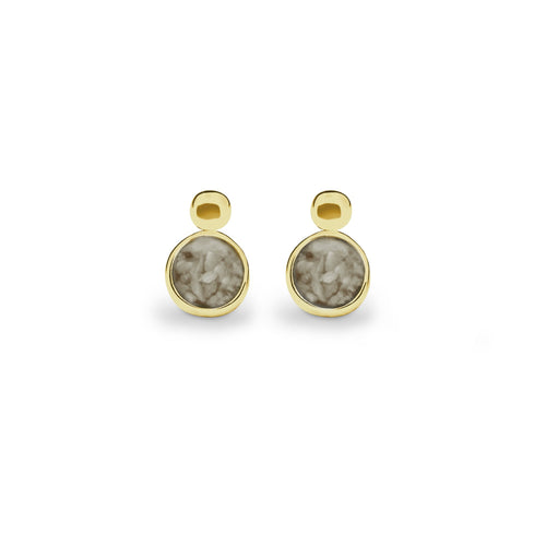 EverWith Delicate Drop Memorial Ashes Earrings