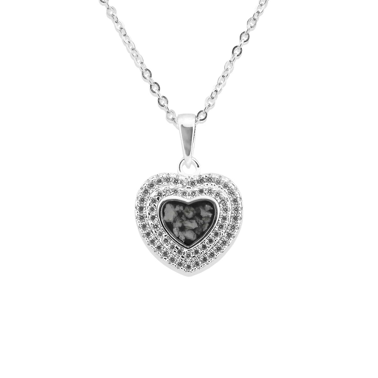 Load image into Gallery viewer, EverWith™ Ladies Cherish Memorial Ashes Pendant with Swarovski Crystals