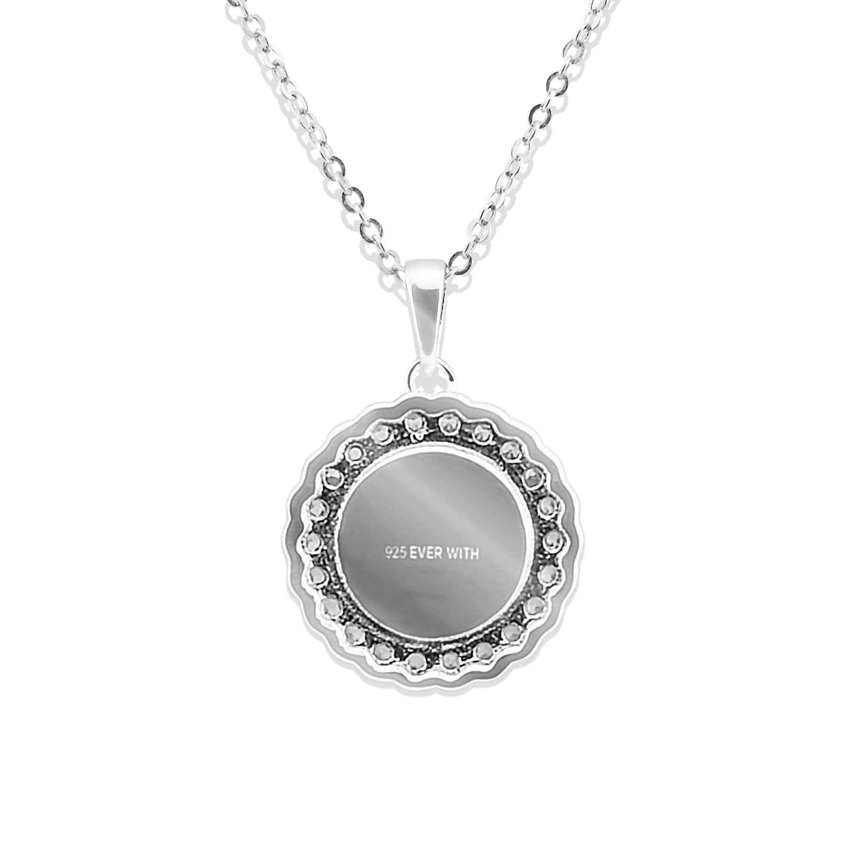 Load image into Gallery viewer, EverWith™ Ladies Petals Memorial Ashes Pendant with Swarovski Crystals