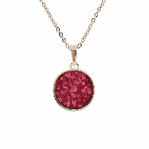 EverWith Ladies Classic Round Memorial Ashes Pendant