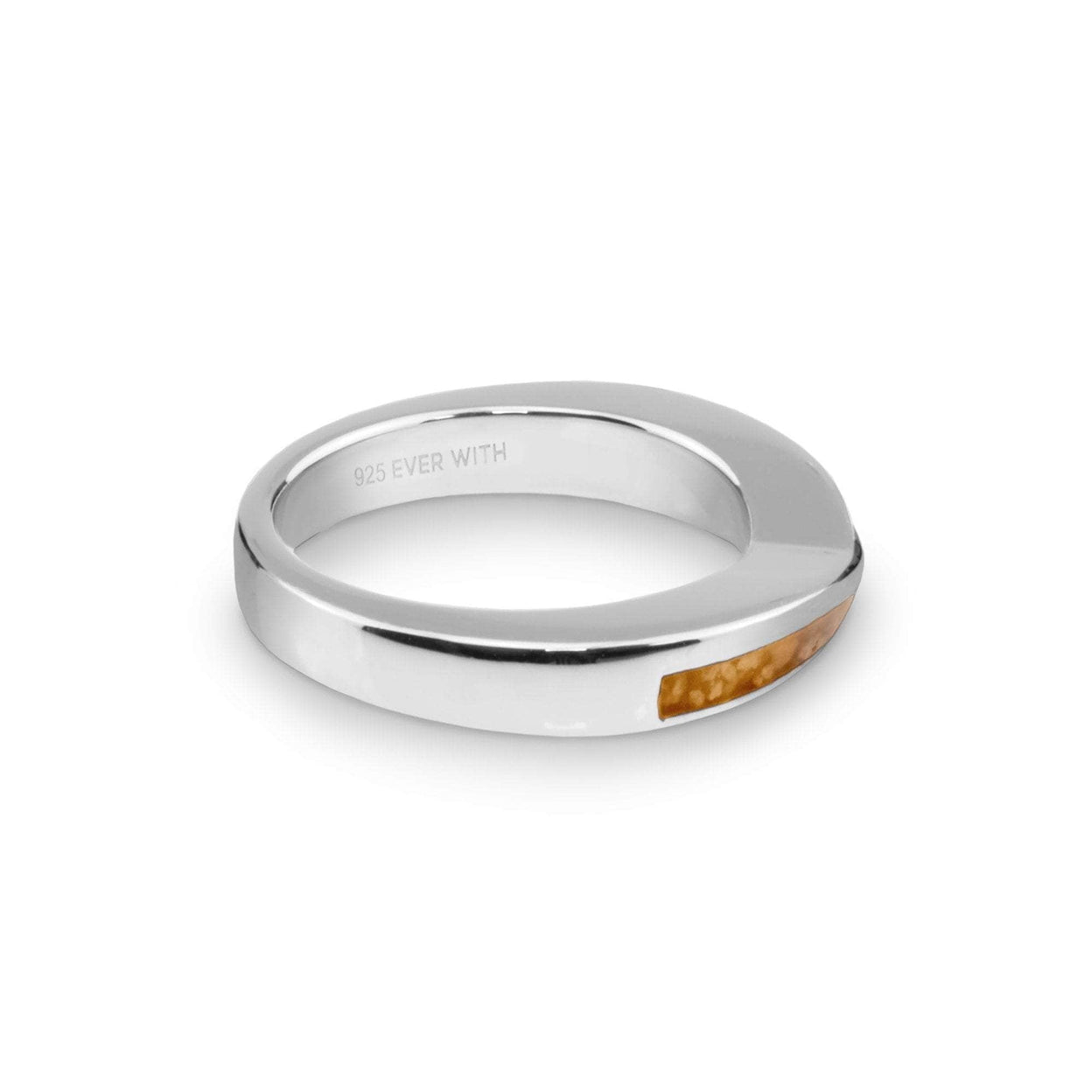 Load image into Gallery viewer, EverWith Ladies Harmony Memorial Ashes Ring with Fine Crystals