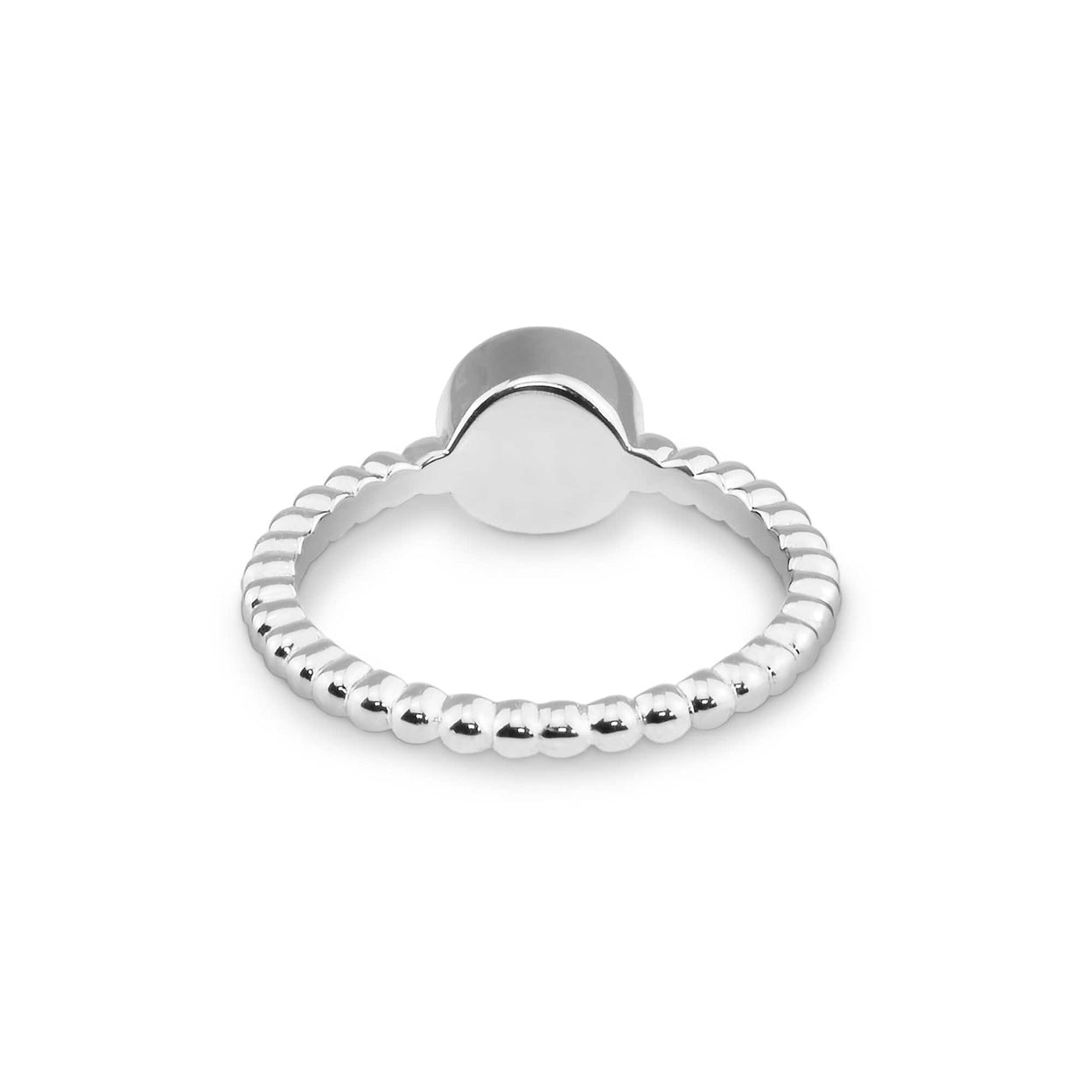 Load image into Gallery viewer, EverWith™ Ladies Round Bubble Band Memorial Ashes Ring