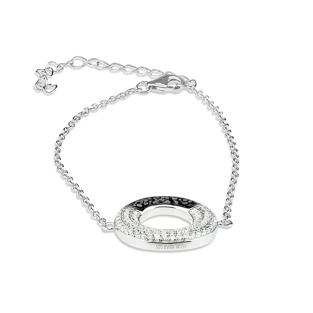 Load image into Gallery viewer, EverWith Ladies Eternal Memorial Ashes Bracelet with Fine Crystals