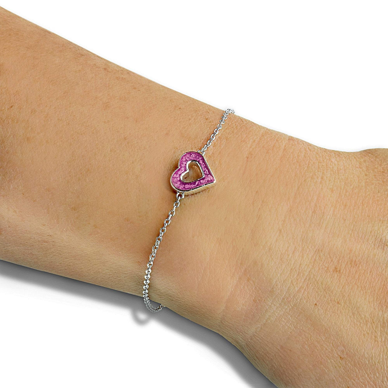 Load image into Gallery viewer, EverWith Ladies Adore Memorial Ashes Bracelet