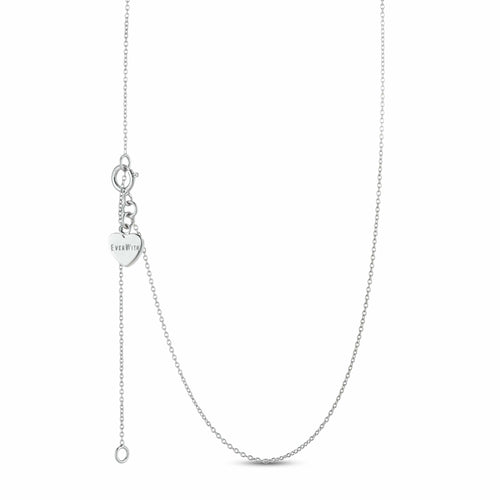 EverWith™ Single Curb Diamond Cut Chain