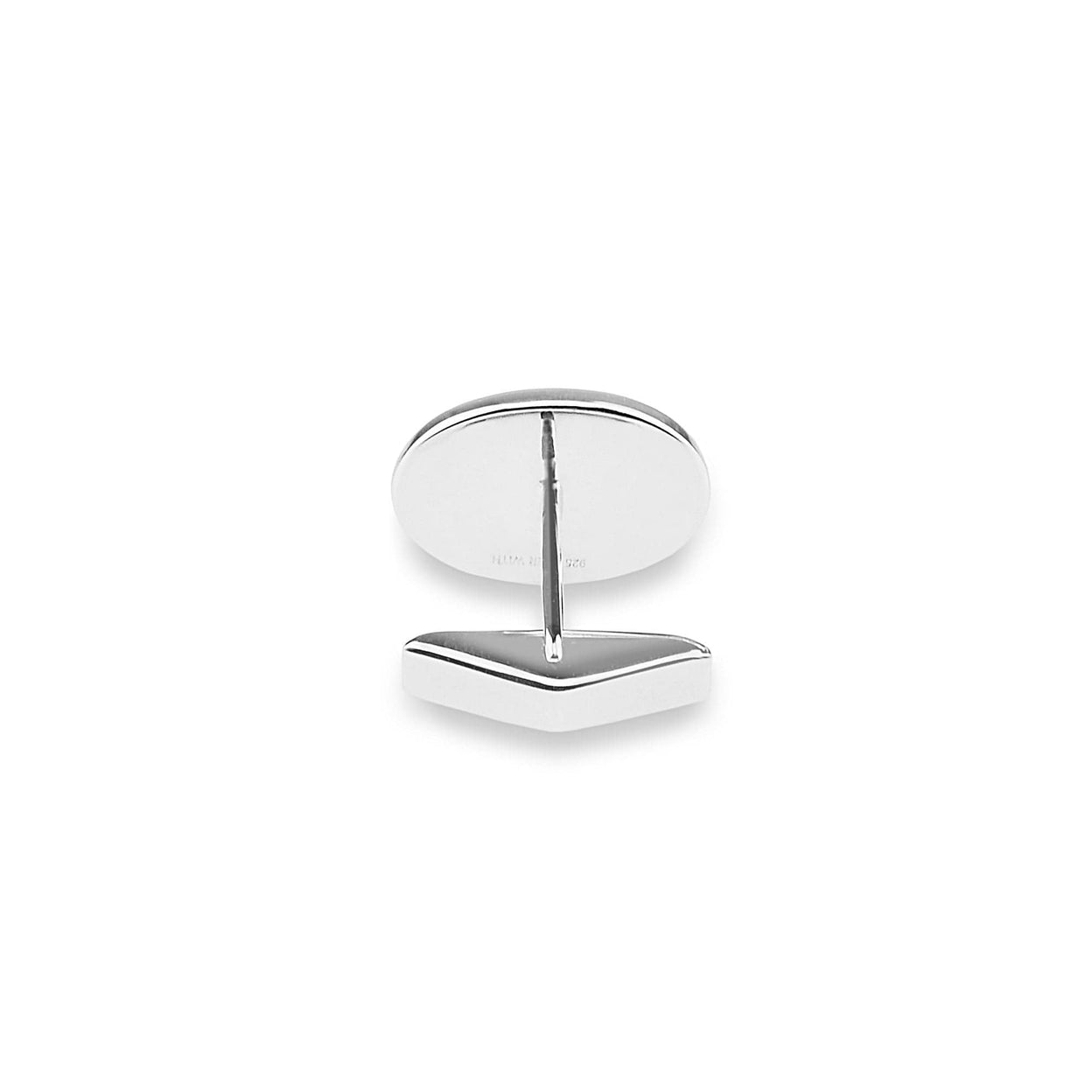 Load image into Gallery viewer, EverWith™ Gents Oval Memorial Ashes Cufflinks