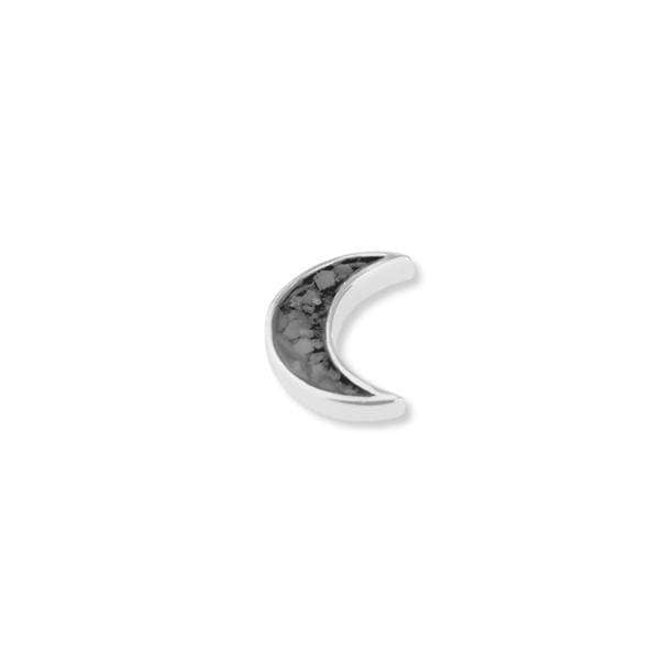 Load image into Gallery viewer, EverWith™ Small Moon Cremation Ashes Element for Glass Locket