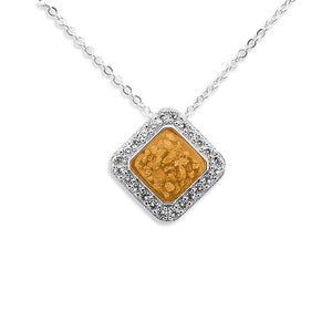 EverWith Ladies Bless Memorial Ashes Pendant with Fine Crystals