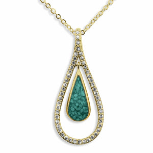 EverWith™ Ladies Teardrop Memorial Ashes Pendant