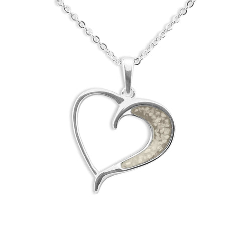 EverWith Ladies Embrace Memorial Ashes Pendant