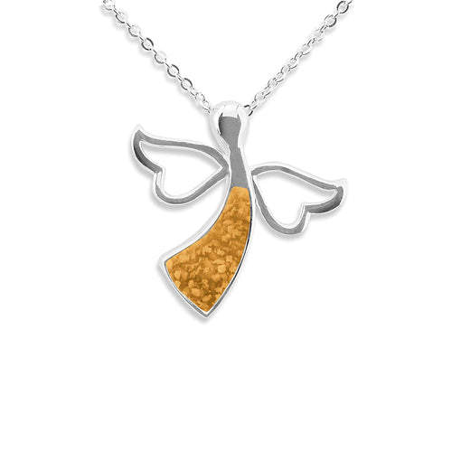 EverWith™ Ladies Angel Memorial Ashes Pendant
