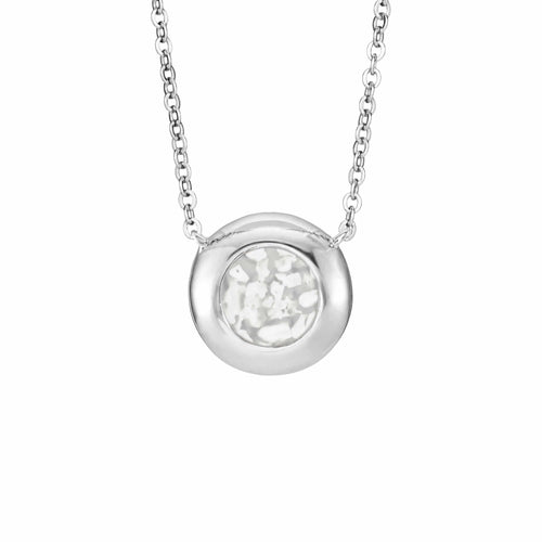 EverWith Ladies Rondure Memorial Ashes Necklace