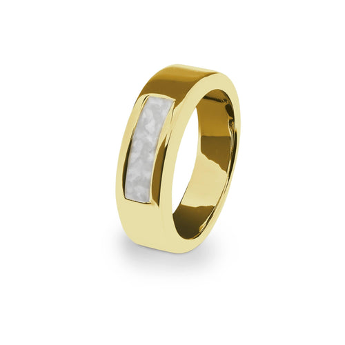EverWith Unisex Pure Memorial Ashes Ring