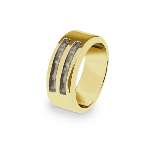 EverWith™ Gents Traditional Memorial Ashes Ring