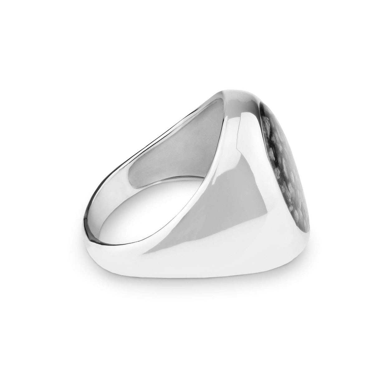 Load image into Gallery viewer, EverWith™ Gents Signet Memorial Ashes Ring
