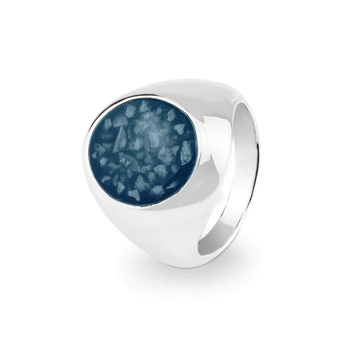 EverWith™ Gents Signet Memorial Ashes Ring