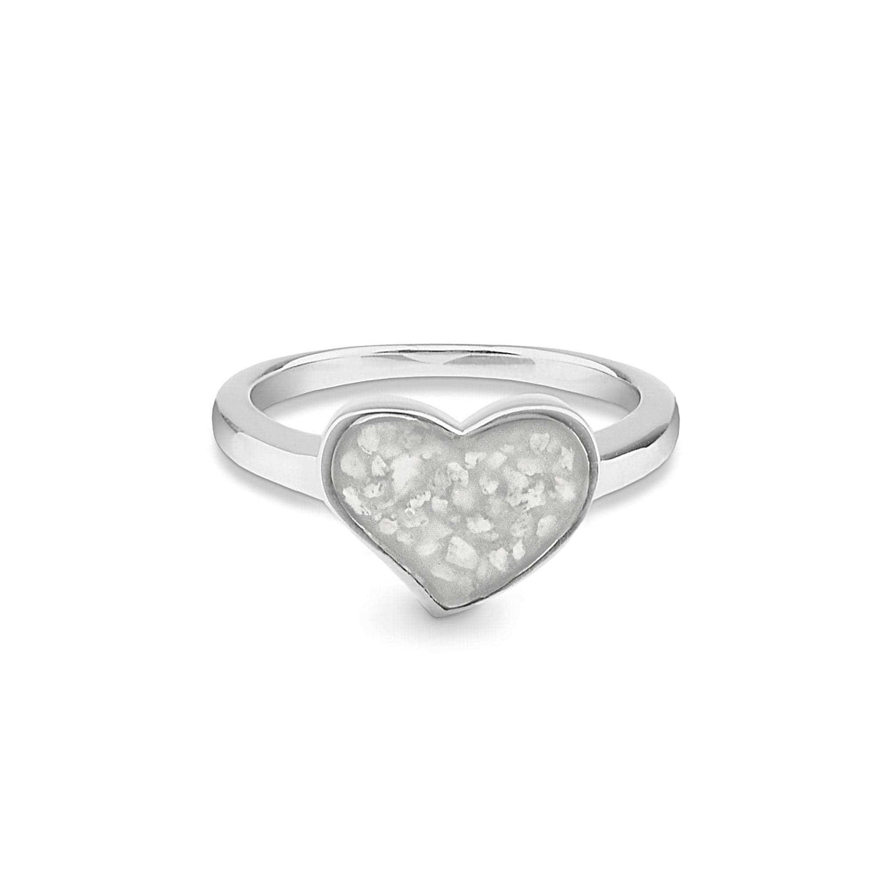 Load image into Gallery viewer, EverWith™ Ladies Oversized Heart Memorial Ashes Ring