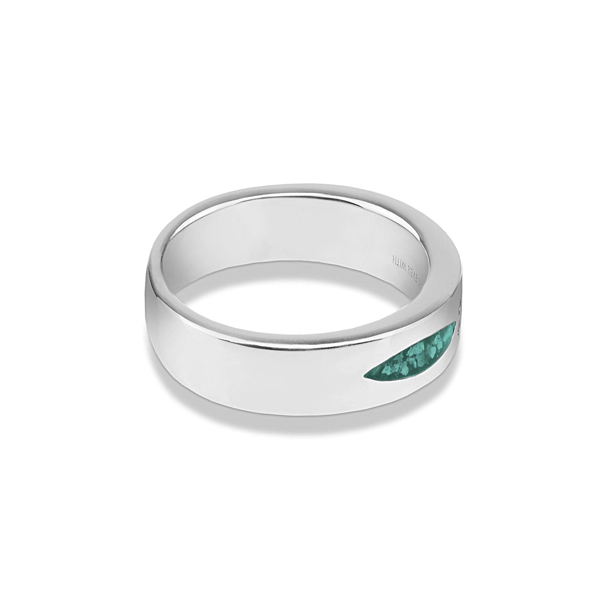 Load image into Gallery viewer, EverWith Unisex Four Together Memorial Ashes Ring with Fine Crystals