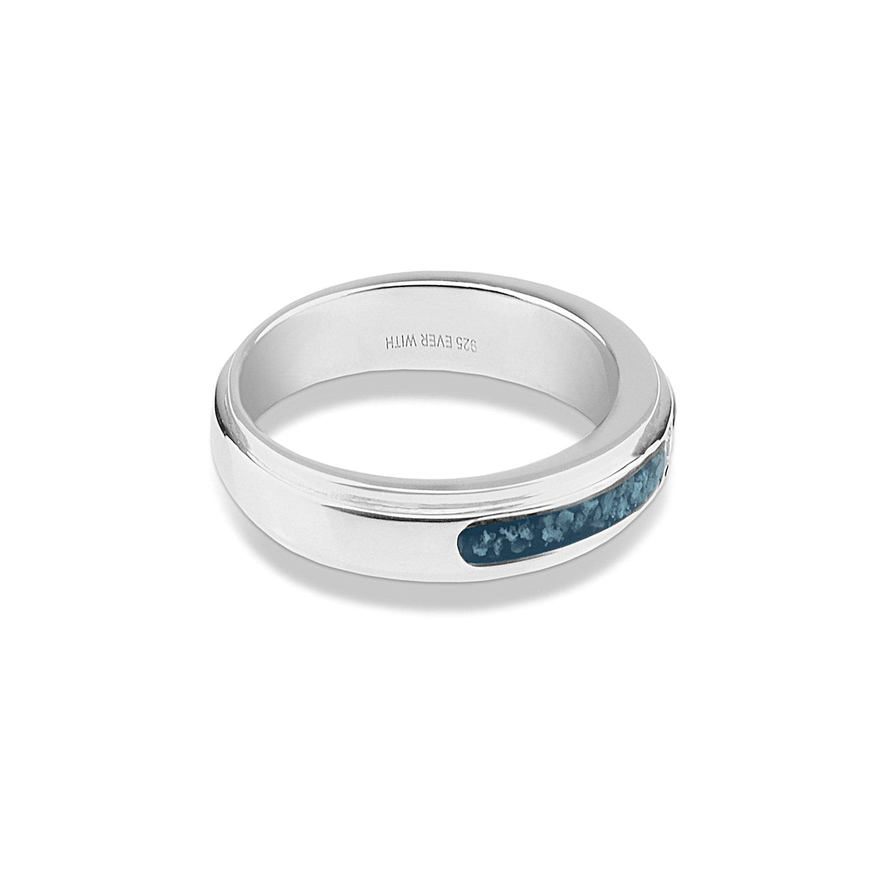 Load image into Gallery viewer, EverWith™ Unisex Remembrance Memorial Ashes Ring with Swarovski Crystal