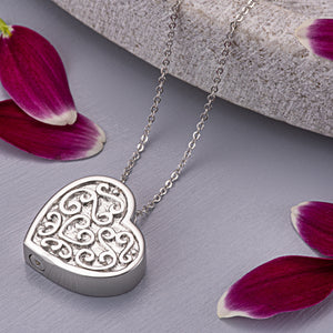 EverWith™ Self-fill Love Memorial Ashes Pendant