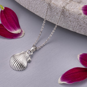 EverWith™ Self-fill Seashell Memorial Ashes Pendant