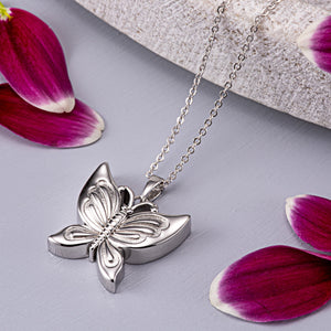 EverWith™ Self-fill Butterfly Memorial Ashes Pendant