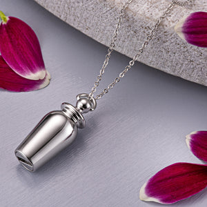 EverWith™ Self-fill Classic Urn Memorial Ashes Pendant